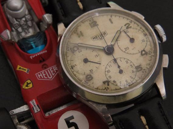 Relógio Cronografo Heuer Cal 71 Big Eyes Antigo