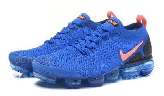 Tenis Nike Vapormax Flyknit 2.0 Air Original Blue Royal 38br