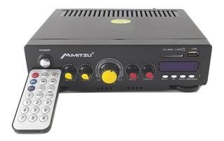 Amplificador Para Sonido Ambiental 180w Mitzu Pa-620usb