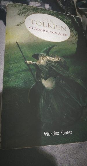 Livro Senhor Dos Anéis-trilogia