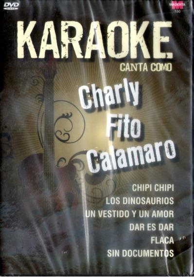 Karaoke Canta Como Fito Charly Calamaro Dvd - Los Chiquibum