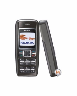 Nokia 1600 Preto Seminovo Em Bom Estado Só Vivo