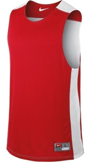 Original Nike Playera Reversible Basketball Entrenar Rojo Tenis.shop