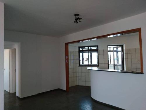 Apartamento 70m², 2 Dormitorios, 1 Suíte, 2 Vagas - Mirandópolis - Ap4678