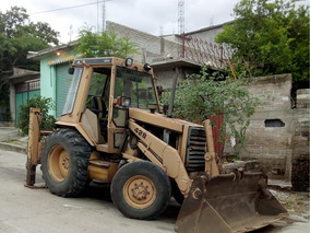 Retroexcavadora Cat 428 4x4 Parecida A 416 426