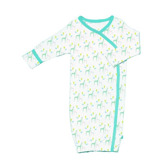 Babysoy Patrón Orgánico Kimono Bundler