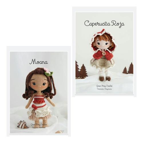 Patrones Princesas Caperucita - Moana Crochet Amigurumi Esp