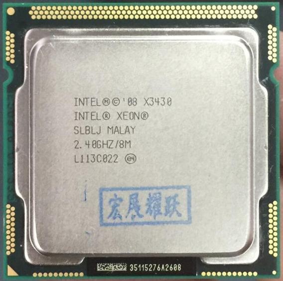 Processador Intel Xeon X3430 = I7 870 8mb 2.80ghz Lga 1156