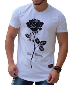Kit C/2 Uni Camiseta Swag Camisa Long Masculina Na Promoção