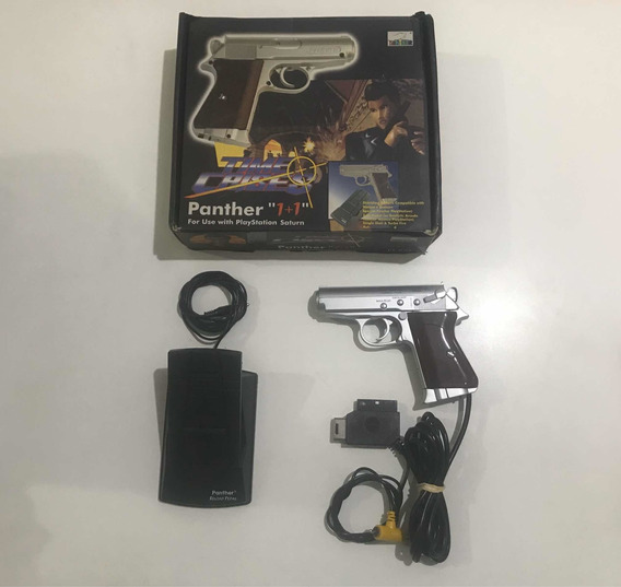 Phanter 1+1 Sony Playstation Ou Sega Saturn Raridade!!