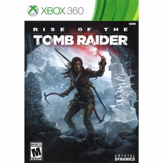 Rise Of The Tomb Raider + Seasson Pass - Xbox 360 Licencias