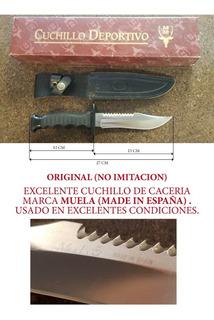 Cuchillo Caceria Marca Muela Original
