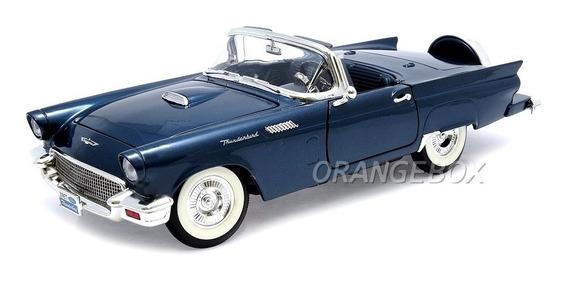 Ford Thunderbird 1957 1:18 Yat Ming #92358-azul