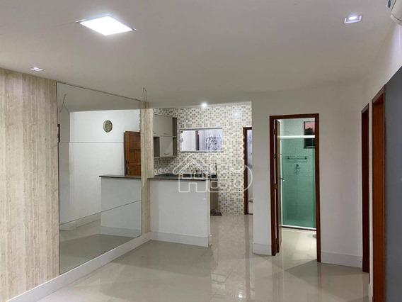 Apartamento Com 2 Dormitórios À Venda, 65 M² Por R$ 195.000,00 - Maria Paula - São Gonçalo/rj - Ap3460