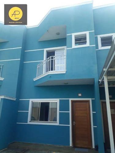 Sobrado Com 2 Dormitórios À Venda, 84 M² Por R$ 300.000,00 - Itapema - Guararema/sp - So0169