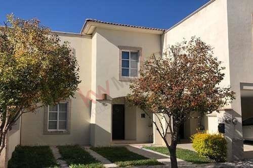 Casa Amueblada Y Equipada En Renta, Residencial Senderos, Torreón, Coahuila