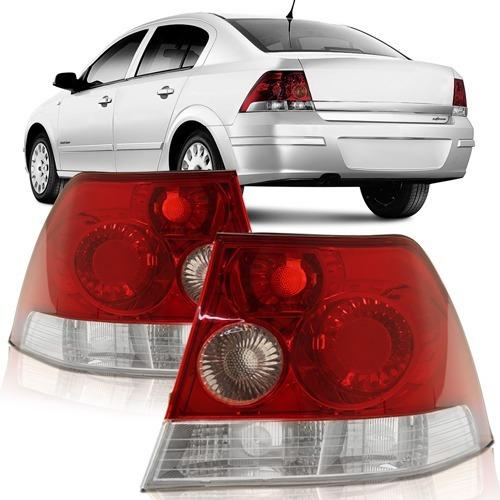 Par Lanterna Traseira Vectra Sedan 2006 A 2011 Bicolor