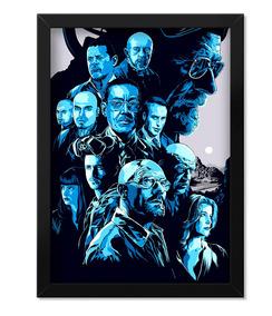 Poster Breaking Bad Netflix Com Moldura