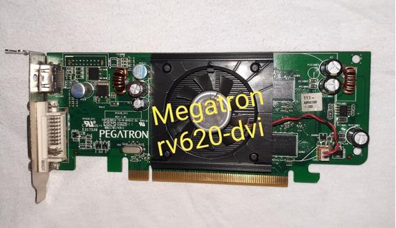 Placa De Vídeo Nvidia 512mb Megatron Rv620-dvi Pci-e Dvi