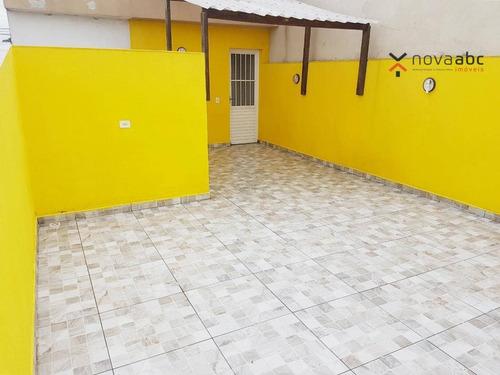 Imagem 1 de 13 de Cobertura Com 2 Dormitórios À Venda, 38 M² Por R$ 265.000,00 - Parque Capuava - Santo André/sp - Co1064