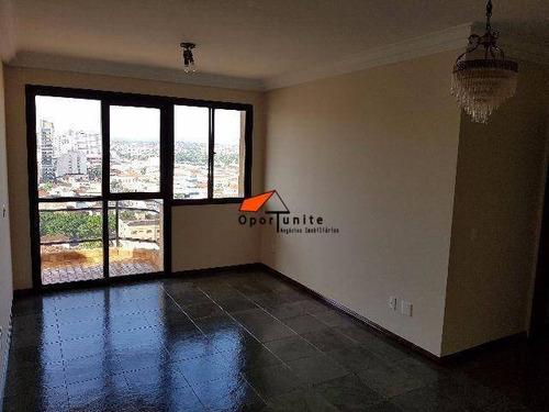 Apartamento Com 3 Dormitórios À Venda, 95 M² Por R$ 320.000,00 - Campos Elíseos - Ribeirão Preto/sp - Ap1044