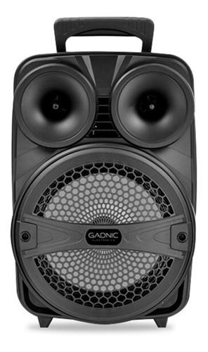 Parlante Gadnic Live Studio XBS11 portátil con bluetooth negra