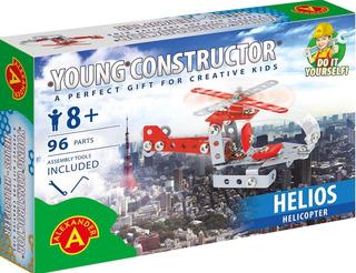 1609 Helicóptero Helios 96 Piezas Tipo Meccano Alexander