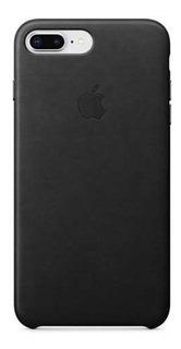 Capa Couro Leather Case Apple iPhone 8 Plus 7 Plus Original