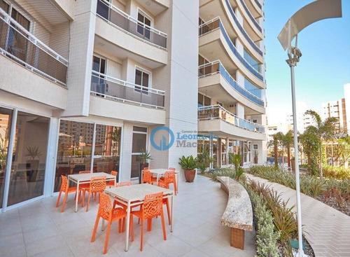 Apartamento Com 3 Dormitórios À Venda, 98 M² Por R$ 848.000 - Cocó - Fortaleza/ce - Ap1039