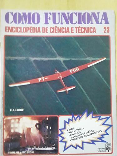 Pl163 Revista Fasc Como Funciona Nº23 Planador Balança