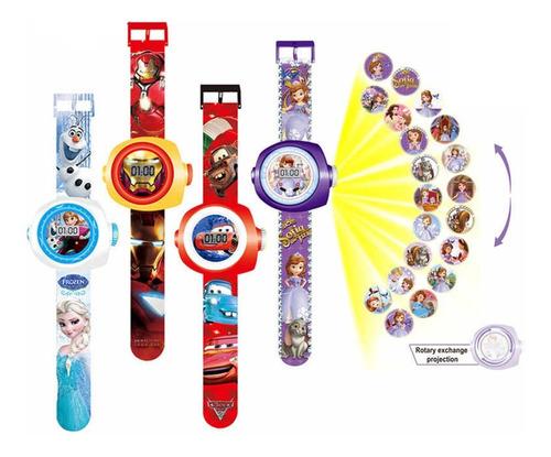 Reloj Proyector Sorpresa Recordatorio Piñata Fiesta Infantil