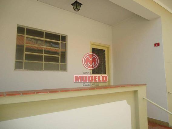 Casa Para Alugar, 80 M² Por R$ 800,00/mês - Centro - Piracicaba/sp - Ca1584