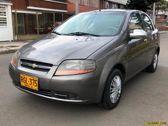 Chevrolet Aveo 1600icc 16v Mt Aa Dh Fe