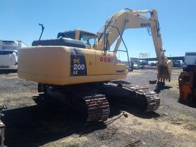 Excavadoras Komatsu Pc 200 Lc