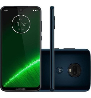 Celular Motorola Moto G7 Plus Xt965-2 64gb Indigo