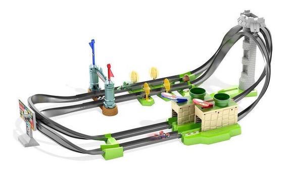 Pista Hot Wheels Mario Kart - Circuito De Corridas