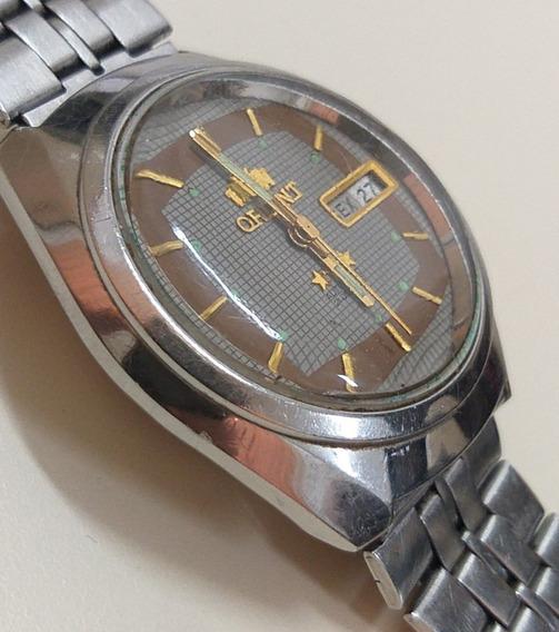Orient Automático Anos 90 - Aço - Lindo - 12x Sem Juros !!!