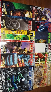 Iron Man Coleccion Marvel Now Televisa Dc Comics Batman