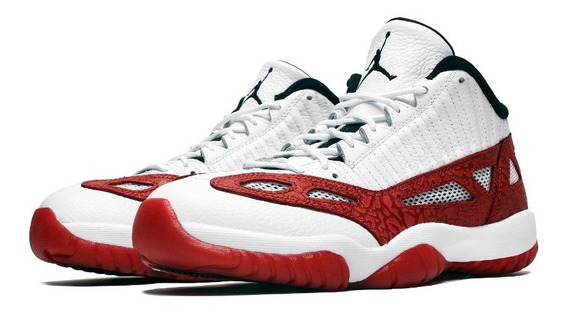 Teste - Tênis Jordan 11 Retro Low Ie Fire Red