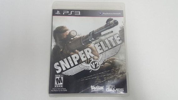 Sniper Elite V2 - Ps3 - Original - Mídia Física