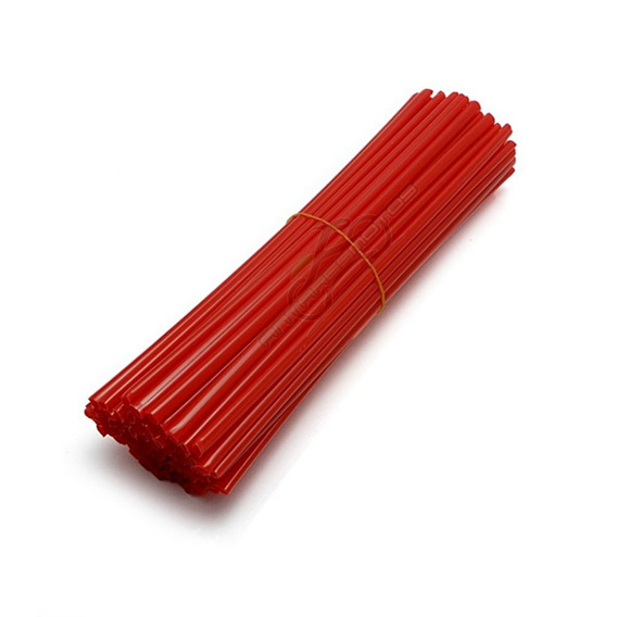 Cubre Rayos Para Motos Universales Color Rojo Antares Motos
