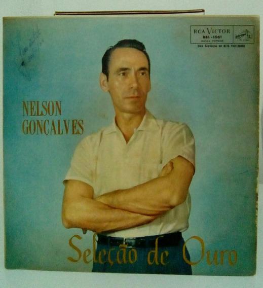 Lp Nelson Gonçalves - Seleçao De Ouro (promoçao)