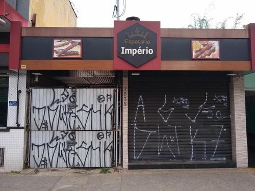 Salão Para Alugar, 190 M² - Centro - São Bernardo Do Campo/sp - Sl1460