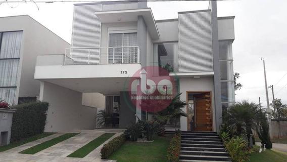 Casa Com 3 Dormitórios À Venda, 370 M² Por R$ 1.650.000 - Condomínio Mont Blanc - Sorocaba/sp - Ca1705