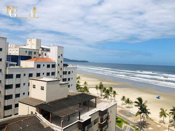 Kitnet Com 1 Dormitório À Venda, 38 M² Por R$ 135.000 - Ocian - Praia Grande/sp - Kn0289