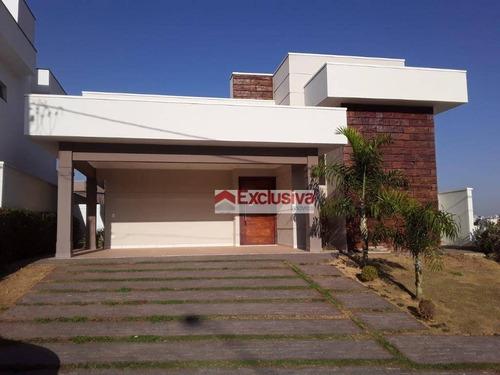 Casa À Venda, 210 M² Por R$ 1.150.000,00 - Condomínio Terras Do Cancioneiro - Paulínia/sp - Ca1657