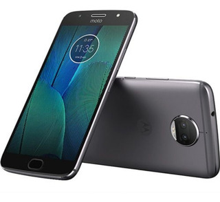Celular Moto G 5 S Plus 32 Gb Duas Cameras Azul Claro Topazi