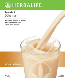 Shake Herbalife Doce De Leite