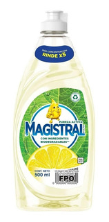 Detergente Magistral Concentrado Pureza Activa 500 Ml X 3u