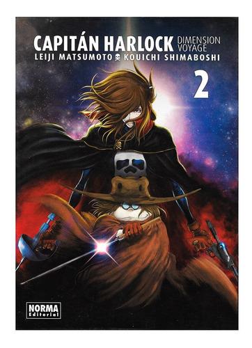 Capitán Harlock Dimension Voyage 2 - Editorial Norma